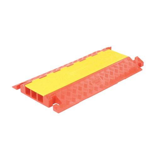 3-Channel Heavy Duty Cable Guard, 36''L x 20''W x 3''H, Yellow/Orange (CP3X225)