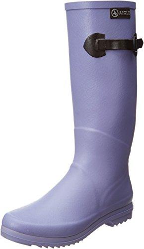 Aigle Chantebelle Pop 8556l - Botas de caucho para mujer, color azul, talla 36 Multicolor - Lavande