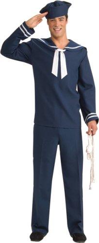 Men's (Mens Navy Blue Sailor Costume)