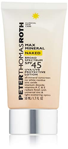 Naked Minerals Makeup - Peter Thomas Roth Max Mineral Naked Broad Spectrum Spf 45 Lotion, 1.7 fl. oz.