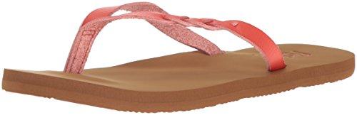 - Flojos Women's Serenity Flip-Flop, Coral, 9 M US