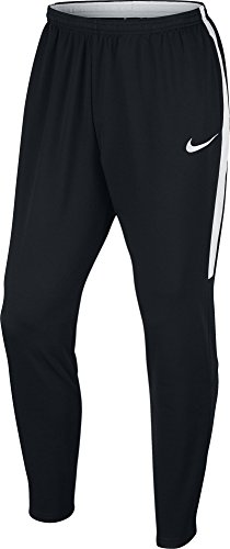 Nike Men's Dry Football Soccer Training Pants (X-Large) Black, White