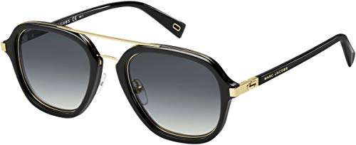 Marc Jacob Aviator Sunglasses - Marc Jacobs Marc172s Aviator Sunglasses, BLACK