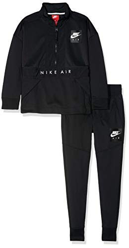 5f26d85e17 Nike AIR TRK, Kid's Pants Tracksuit Set, Black (Negro/Blanco), L:  Amazon.co.uk: Sports & Outdoors