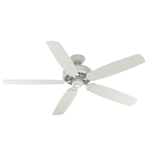 "Casablanca Fans 59118 60"" Ceiling Fan, Cottage White Finish"