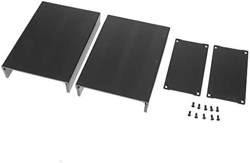 perfk Carcasa De Aluminio PCB Cooler Flat Box Case DIY para ...