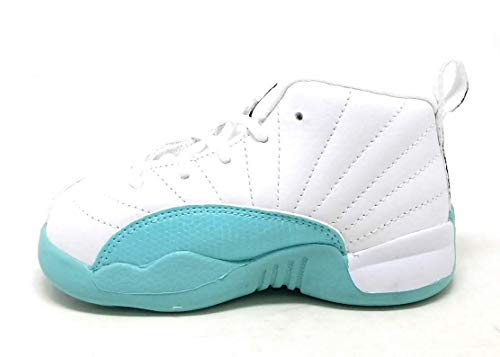 Jordan 12 Retro (TD) Girl's Toddler Shoe 819666-100-size 9C (Jordans Shoes For Toddlers)