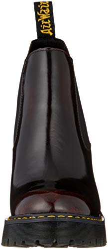 Martens Pour Arcadia 600 Femmes Femme cerad Bottes Dr Rouge Red Hurston Chelsea XqTpBZ