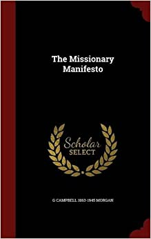 Book The Missionary Manifesto