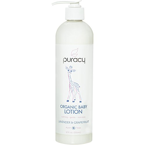 Puracy Organic Baby Lotion Moisturizer product image