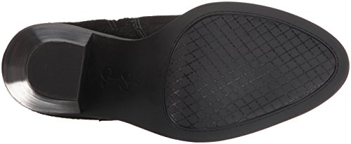 Jessica Simpson Women's Caderian Ankle Bootie, Black, 7.5 M US Photo #2