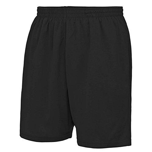 AWDis - Pantalón corto - para hombre negro azabache