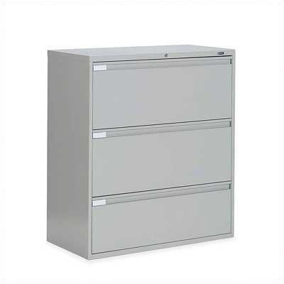 9300 Series 3-Drawer File Finish: Light Grey