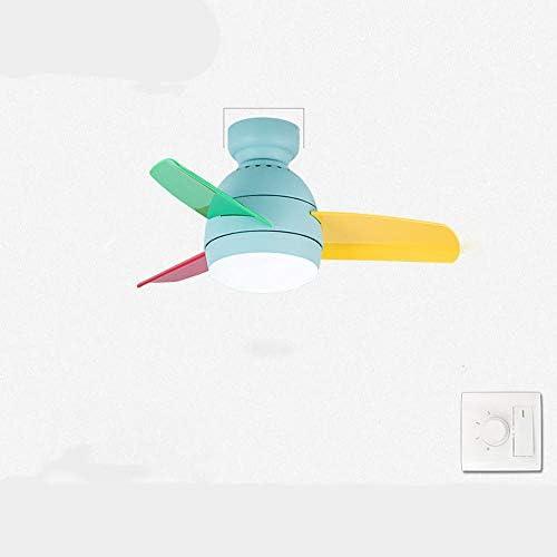 URBBR Luz de ventilador de techo luz de techo luz colgante creativa LED nórdico baja energía regulable-M (66 30): Amazon.es: Iluminación