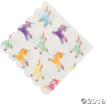 Unicorn Napkins for 24 Guests