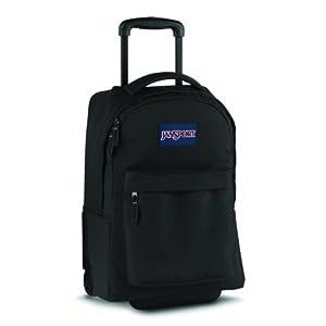 Jansport Superbreak Wheeled Backpack (Black)