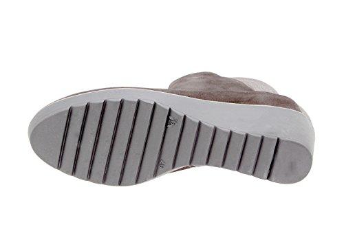 PieSanto Chaussure Femme Confort en Cuir 9793 Botte Confortables Amples Caoba gn8Wt