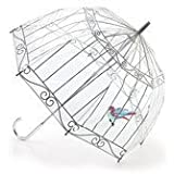 Lulu Guinness Bird In A Birdcage Umbrella by Lulu Guinness