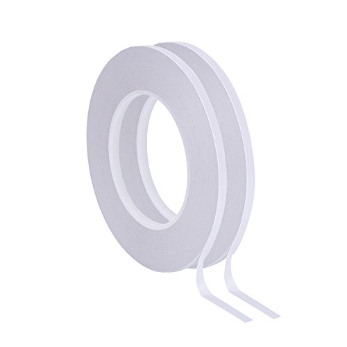 - Outus Double Sided Adhesive Tape 55 Yards for Photos, Documents, Wallpaper, Scrapbooking, Crafts, Ribbon, Cards and Boxes, 2 Rolls (1/4 Inch)