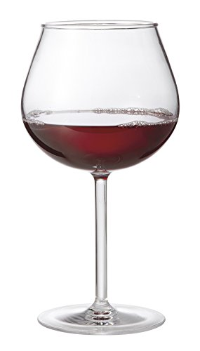 20 oz. Tritan Plastic Balloon Wine Glasses, BPA Free, Reusable Dishwasher Safe Plastic for Indoor / Outdoor Use by GET SW-1447-1-TRITAN-CL-EC (Pack of 4) (Wine Balloon)