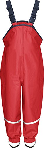 Playshoes Unisex Baby and Kids' Rain Pants 18-24 Months Red by Playshoes
