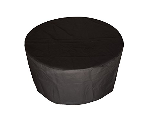 Oriflamme Fire Pit Cover- Black 42 Inch by All Backyard Fun