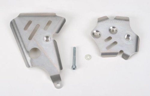 (Works Connection Aluminum Frame Guards - Fits: Yamaha YZ250 2003-2004)