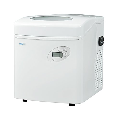 NewAir AI-215W Ice Maker 50 lbs White