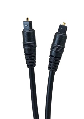 Micro Connectors, Inc. 25 feet TOSLINK Optical Digital Audio Cable (M06-826-25 ) by MICRO CONNECTORS