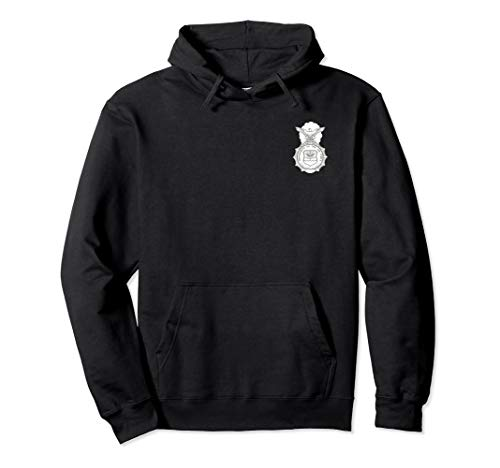 Air Force Security Forces Defensor Fortis Badge Patch Hoodie - Badge Forces Security