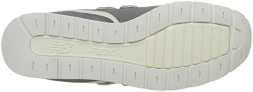 Hombre grey Leather 996 Balance Zapatillas white New Gris Para X01SwZq