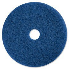 Genuine Joe 90613 Scrubbing Floor Pads, 13