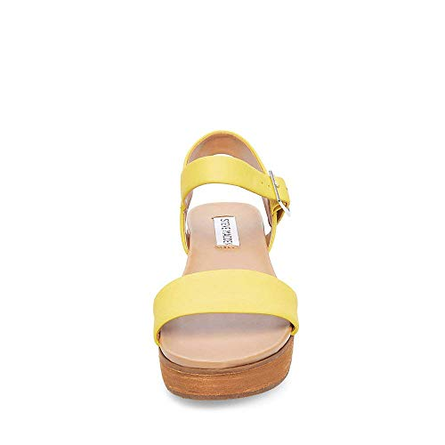 5 Women's Sandal Steve Us Yellow Aida Madden 7 8xOq6