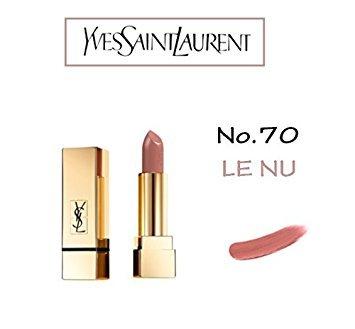 YSL Yves Saint Laurent Rouge Pur Couture # 70 LE NU - 3.8 ml / 0.13 oz