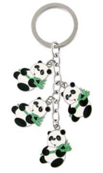 charms in 1 Metal Keychain Holder ()