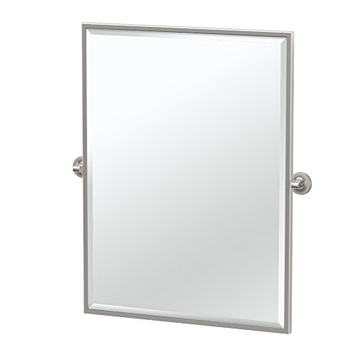 Gatco 4489FS Montgomery Framed Large Rectangle Mirror, 32.5