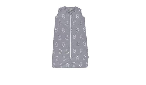 Saco de dormir de verano para su hijo Mid Grey Alta calidad Miffy Dimensiones 70 cm con cremallera