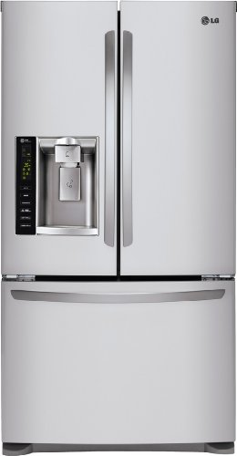 LG LFX25974ST Freestanding Refrigerator Stainless product image