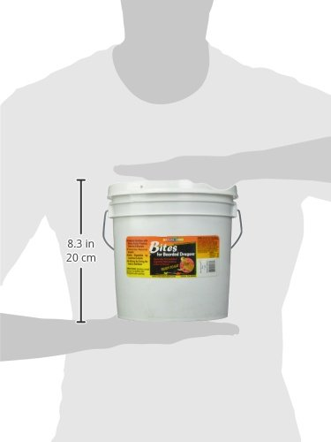 Nature Zone SNZ54623 Bearded Dragon Bites Soft Moist Food, 1-Gallon by Nature Zone (Image #2)