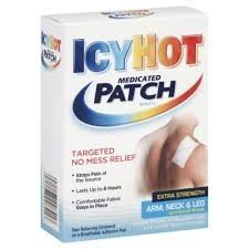 Icy Hot Extra Strength Medicated Patch, Small, 5-Count Boxes (Pack of (Icy Hot Patch)
