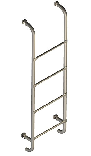 Scaletta per letto - con 4 ganci in metallo per appenderla: Amazon ...