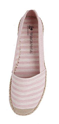 Macarena Espadrilles Pink Lady