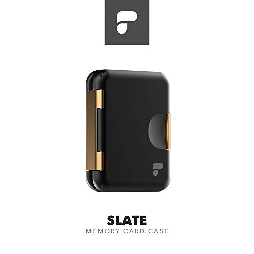 PolarPro Slate SD Card Case (fits 8 SD and 16 Micro-SD) - Premium Metal SD Case