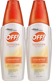 - Off! FamilyCare Insect Repellent IV Unscented, 2 ct, 9 fl oz