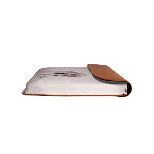 De El Macbook Cuero Pro Paris Real Para Envolvente Aire Dailyobjects 13 Manguito zq0HE