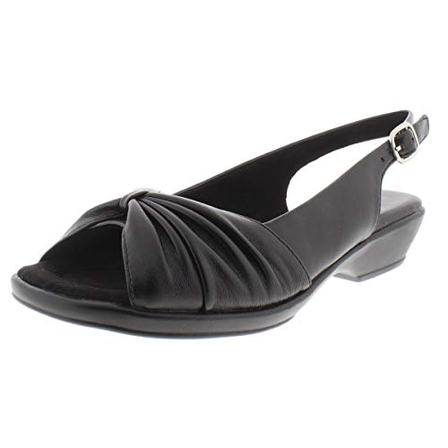 Easy Street Women's Fantasia Heeled Sandal, Black, 8.5 M US