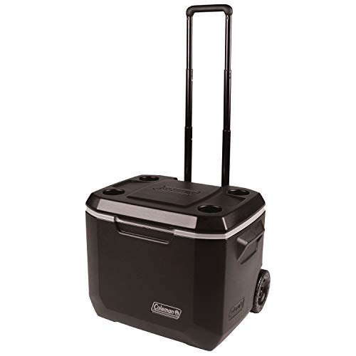 Coleman Wheeled Cooler | Xtreme Cooler Keeps Ice Up to 5 Days | Heavy-Duty...