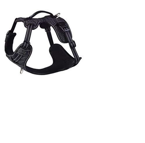 Rogz Snake Explore Harness Black Med