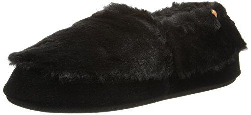 Black Slipper Women's Bear Moc Acorn xXqBn7E
