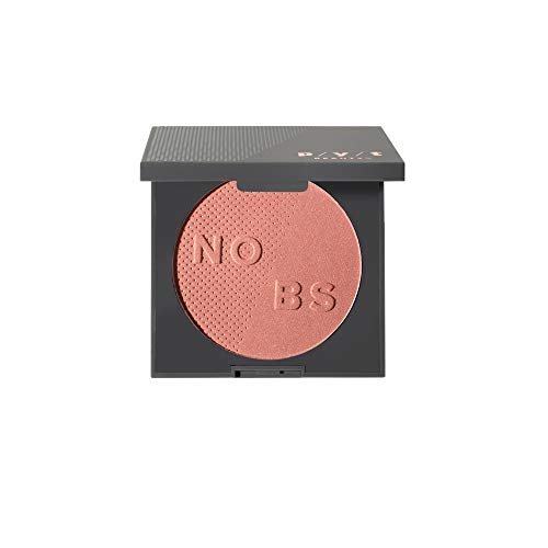 - P/Y/T BEAUTY Blush Compact, Blush Powder, Peachy Coral with Golden Shimmer Blush, Hypoallergenic, Paraben Free, Cruelty Free, 0.2 oz